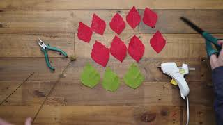Lia Griffith Crepe Paper - Winter Garden