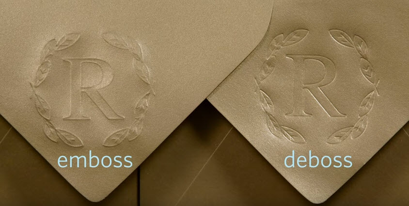 Silhouette Curio Embossing and Debossing
